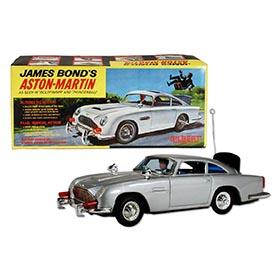 1965 Gilbert, James Bond's Aston-Martin in Original Box