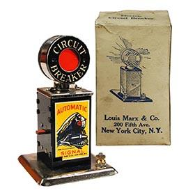 c.1938 Marx, No. 420 Electric Circuit Breaker in Original Box