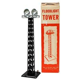 c.1940 Marx, Floodlight Tower in Original Box