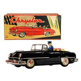 1952 Sato, Chrysler (New Yorker) 2-door Convertible in Original Box