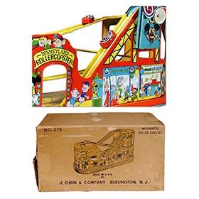 c.1954 Chein, No. 275 Disneyland Rollercoaster in Original Box