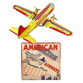 1954 Wyandotte No.220 American Airways Passenger Plane in Original Box