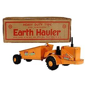 1956 Marx, Lumar Contractors Earth Hauler in Original Box