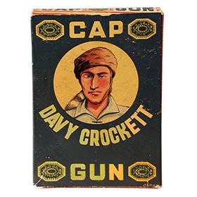 c.1955 Yacht, Davy Crockett Cap Gun in Original Box
