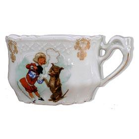 c.1910 Buster Brown & Tige, Good Luck Porcelain Tea Cup