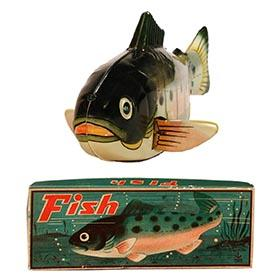 c.1955 Japan (Marked Hadson), Fish in Original Box