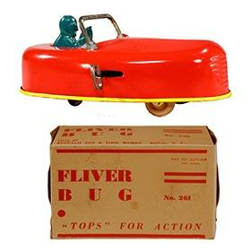 c.1929 Buffalo Toy & Tool Works, No.261 Mechanical Fliver Bug in Original Box