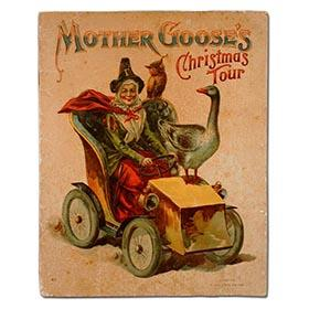 1906 McLoughlin Bros., Mother Goose Driving 1906 Automobile