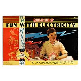 1938 A.C. Gilbert, Fun With Electricity in Original Box