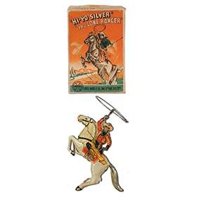 1938 Marx, Hi-Yo Silver the Lone Ranger in Original Box