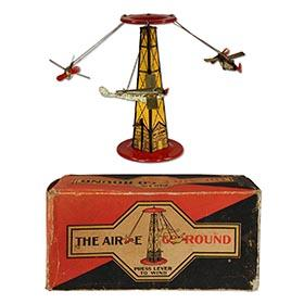 1926 Reeves Mfg. Co., The Air-E Go-Round in Original Box