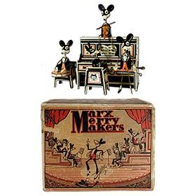 1931 Marx, Merry Makers Mouse Band in Original Box