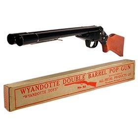 1941 Wyandotte, No.34 Double Barrel Pop Gun in Original Box