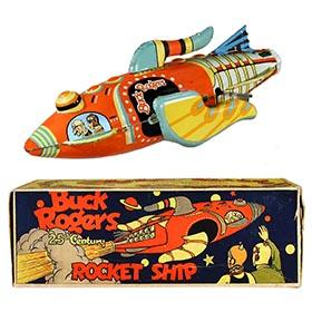 1934 Marx, Buck Rogers 25th Century Rocket Ship in Original Box #3