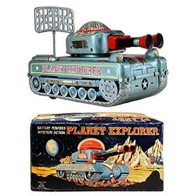 c.1955 ALPS, Planet Explorer X-1 Space Tank in Original Box