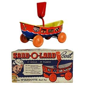 1941 Wyandotte, Sand-O-Land Boat in Original Box