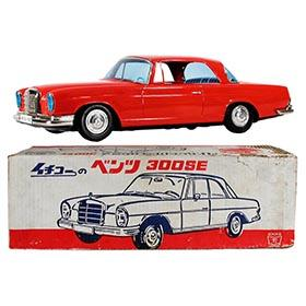 1970 Ichiko, Mercedes Benz 300 SE Coupe in Original Box