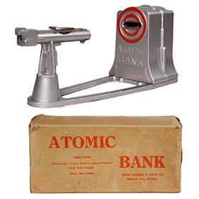 c.1957 Duro, Atomic Bank in Original Box