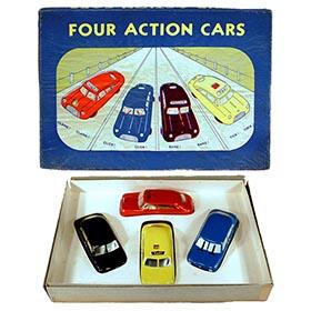 1952 Argo, Four Actions Cars Set in Original Box