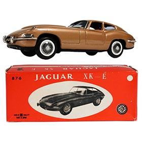 c.1962 Bandai, Jaguar E-Type (XK-E) in Original Box