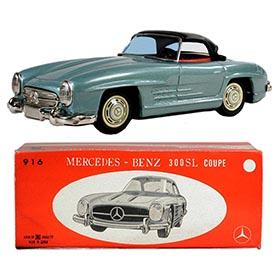 c.1958 Bandai, Mercedes Benz 300SL Coupe in Original Box