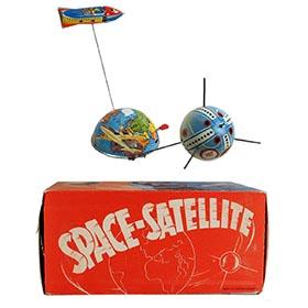 1958 Philipp Niedermeier, Space Satellite in Original Box