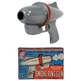 1954 Nu-Age Products, Smoke-Ring Gun in Original Box