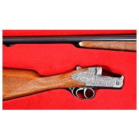c.1985 Edison, Montecarlo 12 Gauge Double Barrel Shotgun Cap Rifle in  Original Box