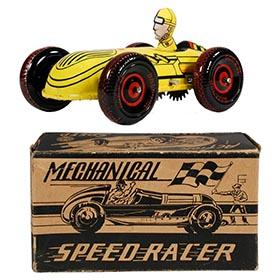 1950 Marx, Mechanical Speed Racer #1 in Original Box