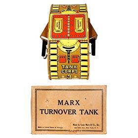 1940 Marx, Turnover Tank in Original Box