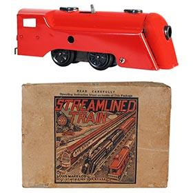 1950 Marx,  Commodore Vanderbilt Train Set in Original Box