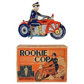 1933 Marx, Rookie Cop in Original Box