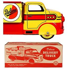 1952 Marx, Deluxe Delivery Truck with Products in Original Box