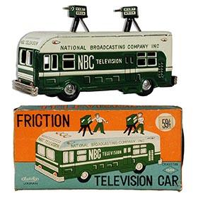 c.1958 Asahai, NBC Television Car in Original Box