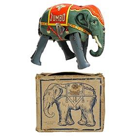 c.1948 Blomer & Schüler, Jumbo Elephant in Original Box