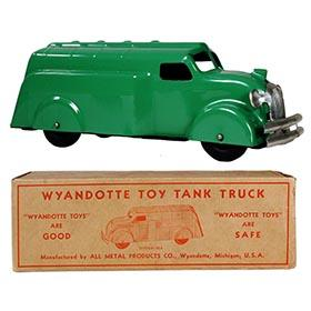 1937 Wyandotte, No. 330 Streamlined Tank Truck in Original Box
