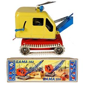 1956 GAMA, No.280E Electric Excavator Crane in Original Box