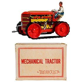 1950 Marx, Mechanical Tractor in Original Box