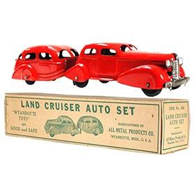 1937 Wyandotte, No.346 Land Cruiser Auto Set in Original Box