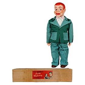 1957 Juro Novelty, Jerry Mahoney Ventriloquist Doll in Original Box