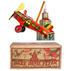 1928 Marx, No. 700 Dare Devil Flyer in Original Box