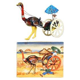 1954 Georg Kohler, Ostrich Cart in Original Box