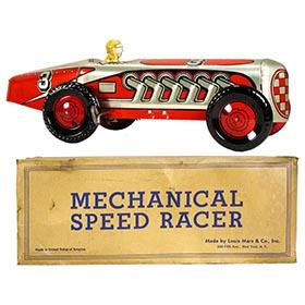 1948 Marx, Mechanical Speed Racer in Original Box