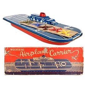c.1955 Wolverine, Airplane Carrier in Original Box