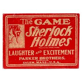 1904 Parker Brothers, Sherlock Holmes Game in Original Box