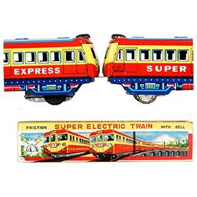 c.1950 Kokyu, Super Electric Train in Original Box