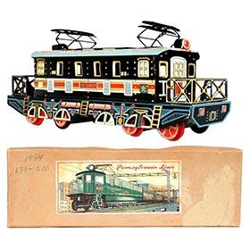 1954 Showa, Pennsylvania Line Electric Locomotive in Original Box