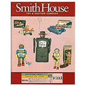2000-05 Smith House Auctions; Nine Full Color Original Catalog
