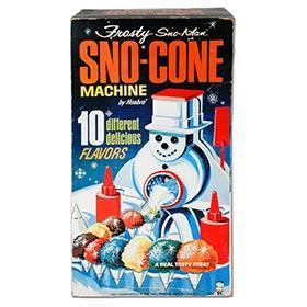 1967 Hasbro, Frosty Sno-Cone Machine in Original Box