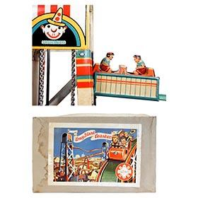 1949 Göso, Coney Island Coaster in Original Box